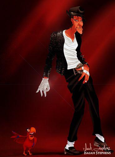 """O vilão de """"Aladdin"""", Jafar, abandonou os planos maléficos para dançar moondance que nem Michael Jackson Foto: Isaiah Stephens"""