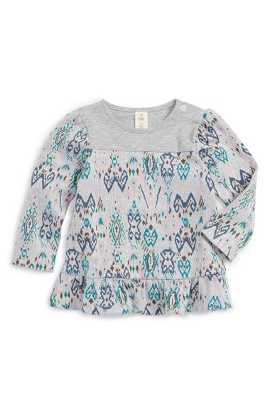 Tucker + Tate Ruffle Trapeze Tunic (Baby Girls) available at #Nordstrom