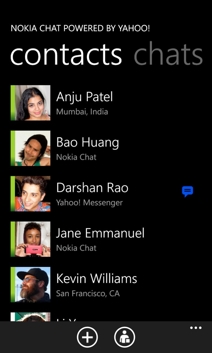 Nokia Chat Windows Phone rilasciata da Beta Labs