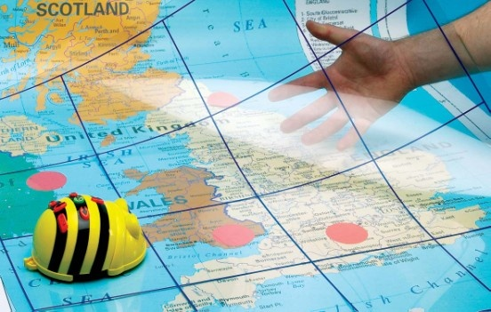 Bee-Bot Transparent Grid Mat