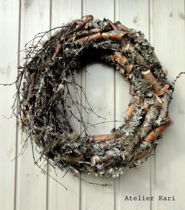 Atelier Kari naturdekorasjoner og kranser: Debuterer som Gjesteblogger med temaet Bjørk.