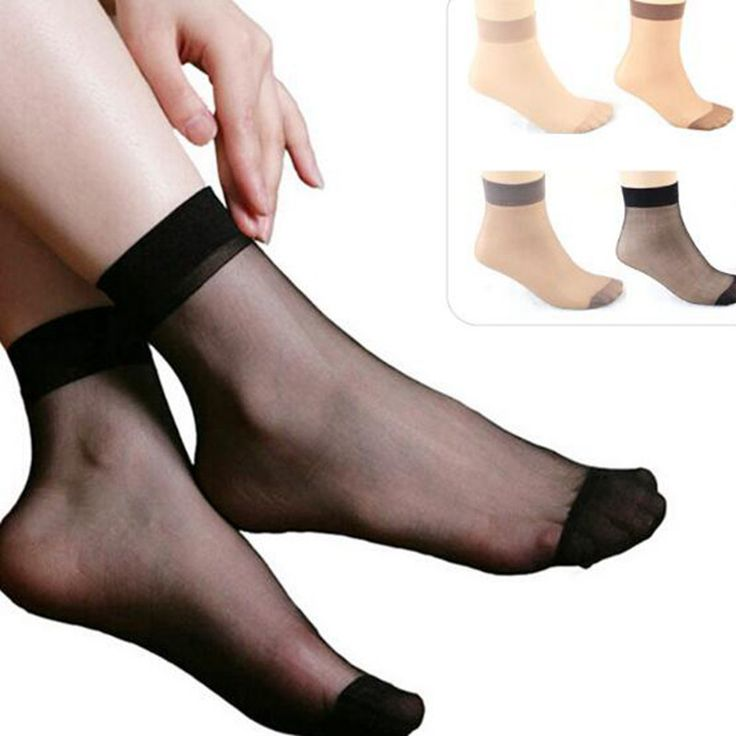 Summer Ladies Short Stock,New Silk Stock On The Transparent Crystal Of Invisible Socks Stall Goods Wholesale