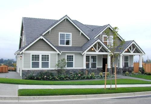 Front Exterior Of Mascord Plan 2270ca The Larchwood House Ideas Pinterest House