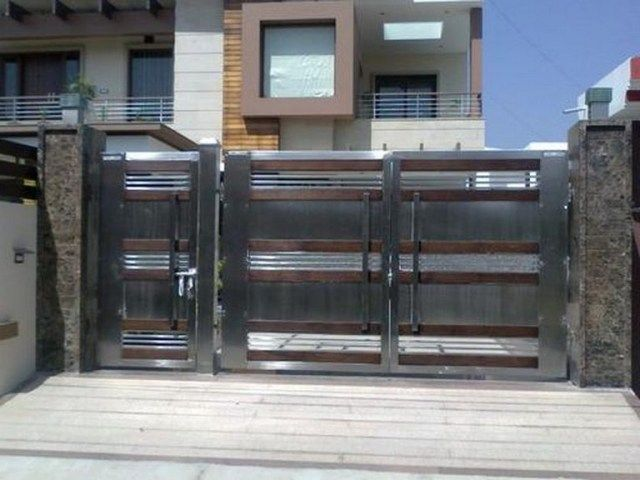 55 Lovely Modern Home Gates Design Ideas Gate Designs Modern Beautiful Modern Homes Gate Design