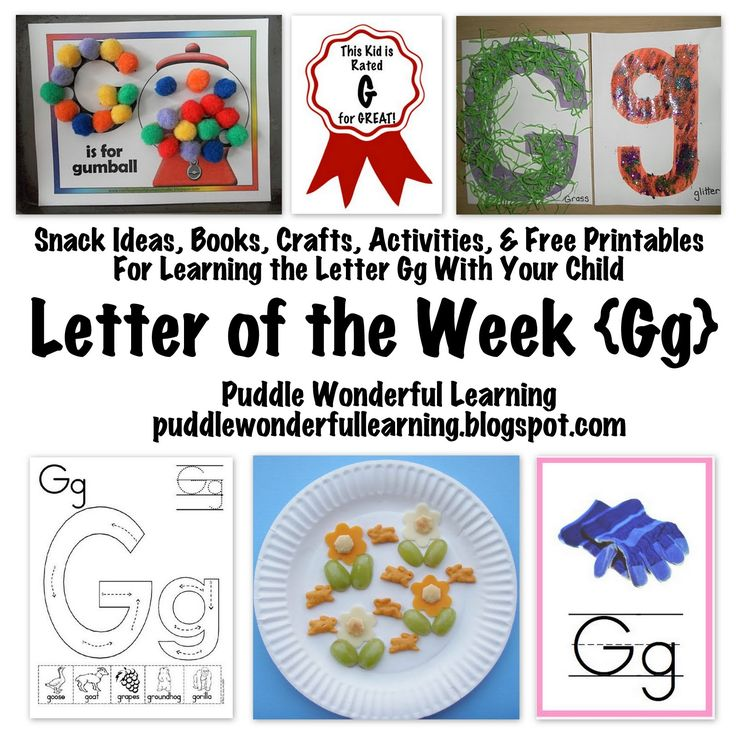 1000 images about letter g on pinterest preschool for Educational crafts for preschoolers