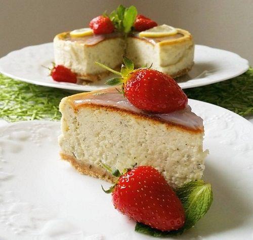 Naneli Cheesecake Tarifi