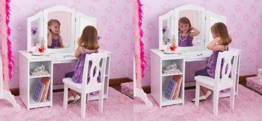 17 best ideas about meuble enfant on pinterest for Meuble coiffeuse fille