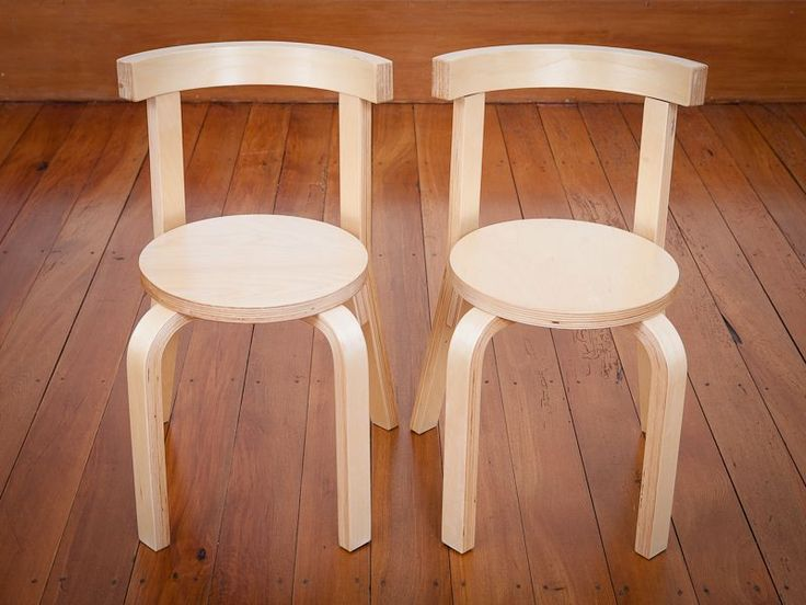Mocka - Kids Wooden Chairs - 2 Pack