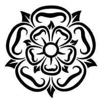 Tribal Yorkshire Rose Tattoo Design Tattoowoo Com Yorkshire Rose English Rose Tattoos Compass Rose Design