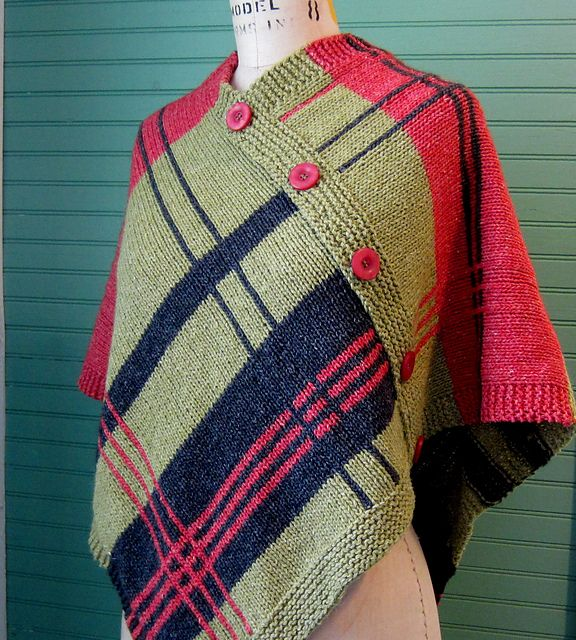 Plaidaptation Pattern By Aunt Ninny Aunt Ravelry And