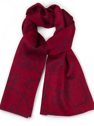 """""""Hello Kitty"""" Scarf by Loungefly (Red) #inkedshop #scarf #hellokitty #cute #fashion"""