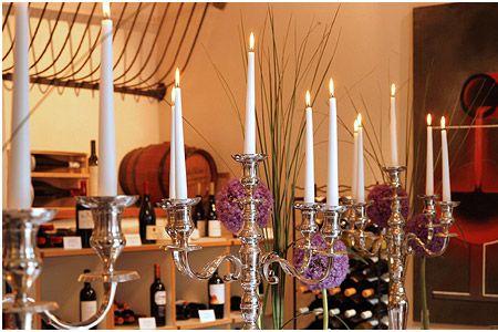 ♥♥♥ Silberne Kerzenständer für Hochzeit mieten http://www.weddstyle.de/kerzenstaender-mieten.html #weddstyle