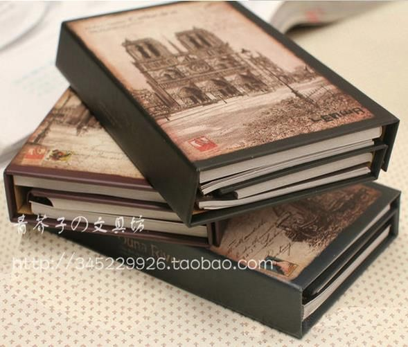 Cheap Notebooks, Buy Directly from China Suppliers:  Vintage Hardcover color pages Van gogh art painting notebook dairy Journal book 19cmx13cmUS$ 17.60/piece&n