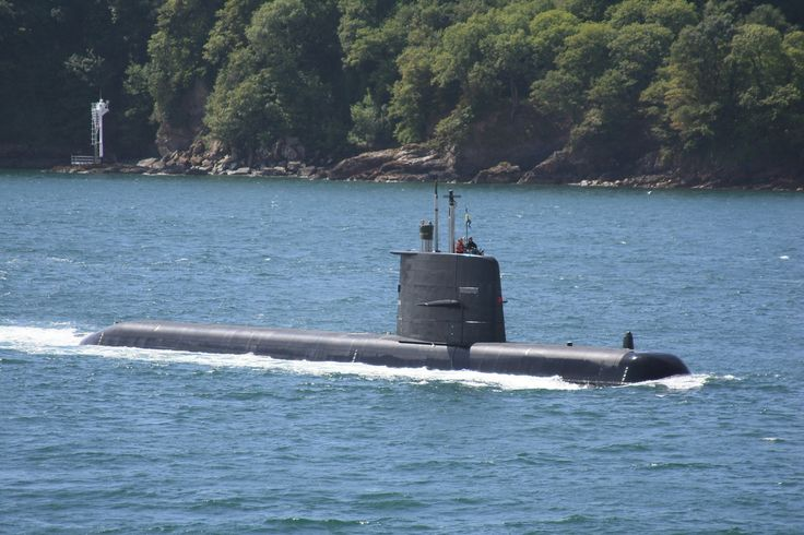 HSwMS Uppland - Gotland-class submarines of the Swedish Navy are modern diesel-electric submarines