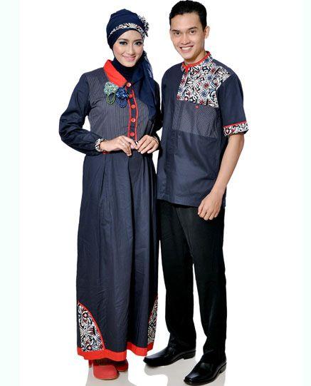 Baju Pasangan Muslim » Busana Pasangan Terbaru (NMR 0711-NMR 0712) • Toko Pakaian dan Baju Distro Menjual Pakaian Pria dan Wanita   Kaos, Jaket, Kemeja, Tas, Sepatu dan sandal