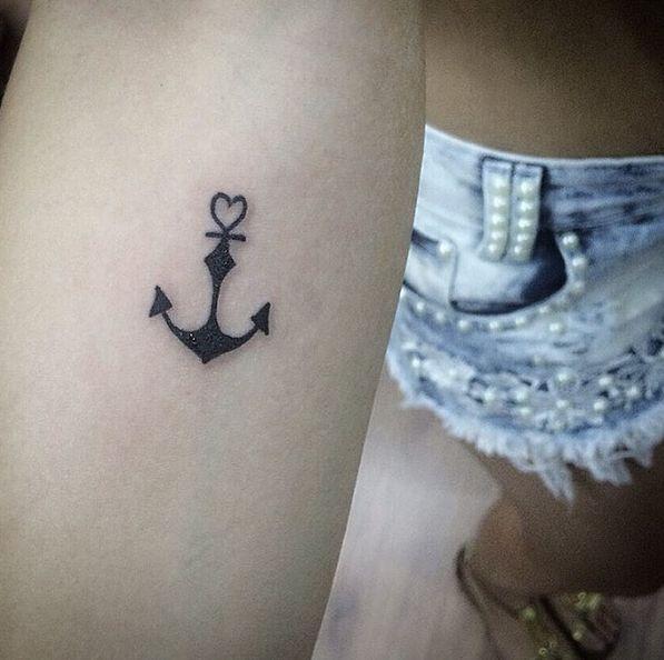 small anchor tattoos ile ilgili pinterest u0026 39 teki en iyi 17 u0026 39 den fazla fikir