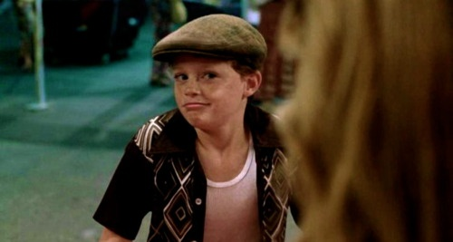 Sean Berdy in sandlot 2. Gahhh! Its Emmet from Switched at Birth!!!