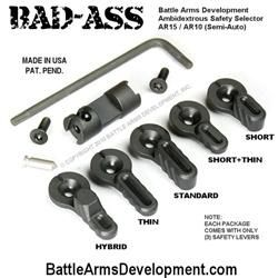 Battle Arms BAD ASS Ambidextrous Safety Selector