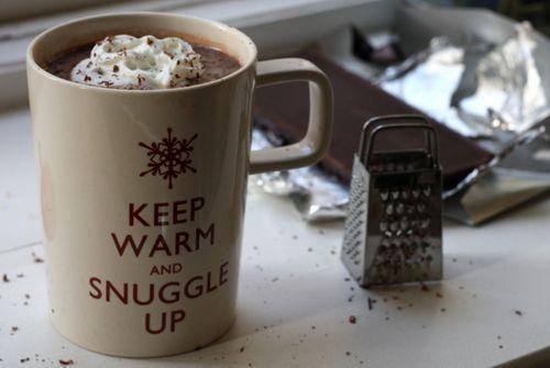 Keep Warm and snuggle up.. with hot chocolateHoliday, Snuggles, Winter, Salts Caramel, Keepcalm, Keep Calm, Hot Chocolates, Coffee Mugs, Hot Coco
