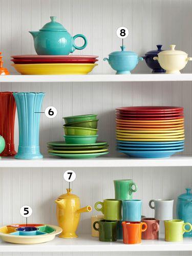 Fiesta Dinnerware - Fiestaware Colors - Country Living