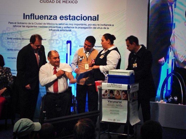 Campaña de Vacunación Contra Influenza Estacional en CDMX