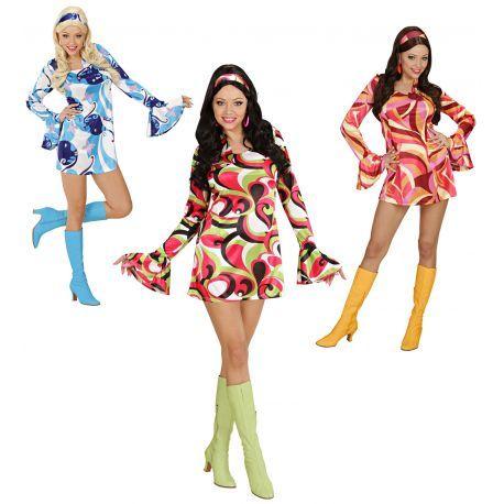 Envíos en 24h desde 2,99€ GRATIS a partir de 60€. Disfraz Chica Años 70. Tienda de disfraces online. Disfraces Originales. Disfraces baratos.