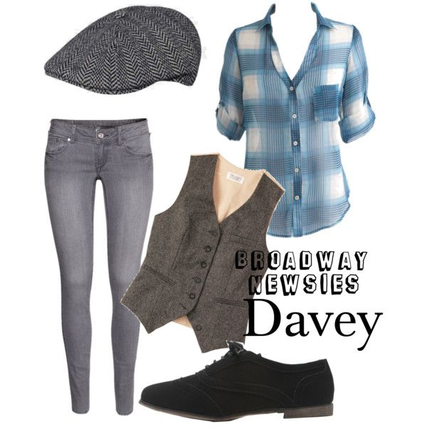 Davey from newsies broadway outfit :3