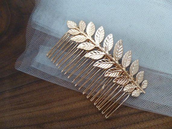 Grecian Leaf Headpiece Head piece Grecian Hairpiece Hair Piece Greek Goddess Hair Accessories Grecian Wedding Bridal Hair Accessories Fall  •