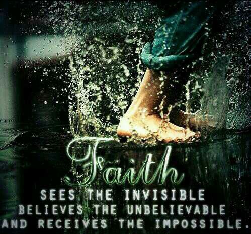 Live by faith