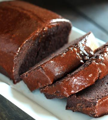 """This Chocolate Pound Cake is dense, rich and oh-so chocolatey. Simple and easy, this pound cake is portable, making it a thoughtful """"welcome new neighbor"""" or holiday gift."""