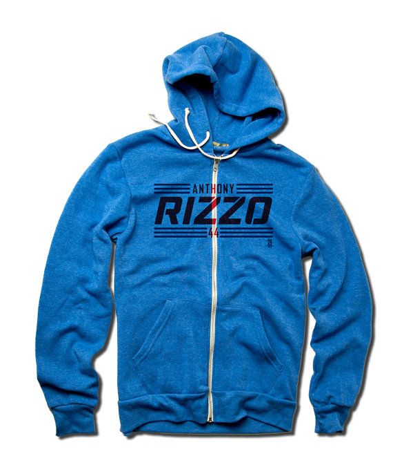 The BEST Chicago Cubs Merchandise | Anthony Rizzo Zip Up Hoodie