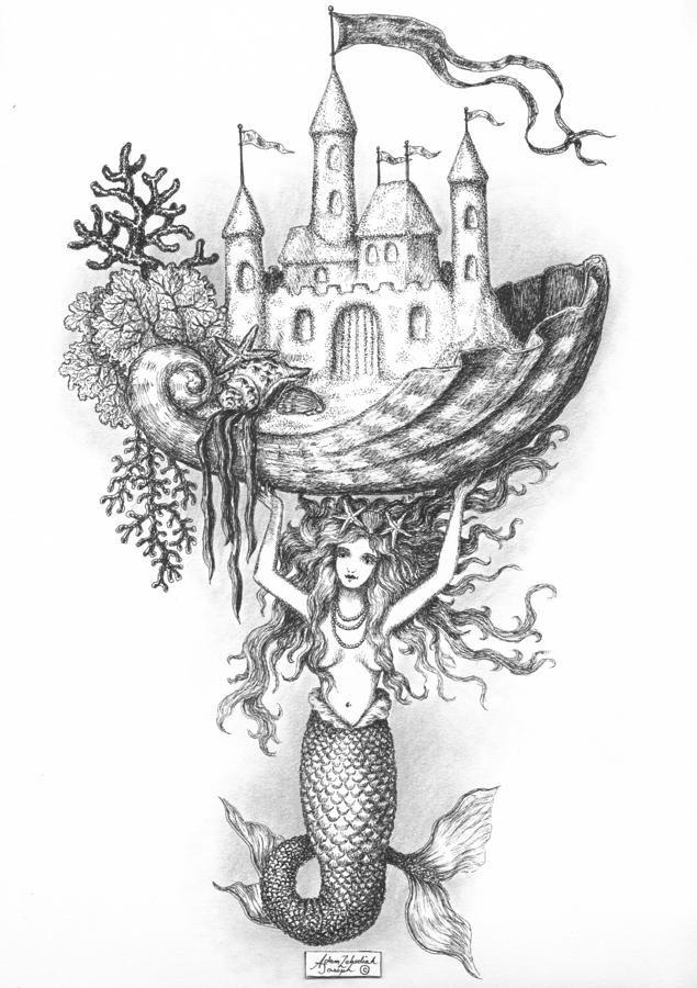 The Mermaid Fantasy | Mermaids Art | Pinterest | Mermaids ...