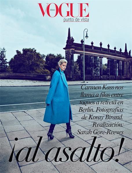 Кармен касс голубое пальто