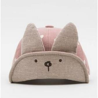 2017 New Arrival Spring Baby Hats Cute Bunny Ear Design Babby Peaked Cap Summer Baby Boy Hat Newborn Photography Props 3-18M