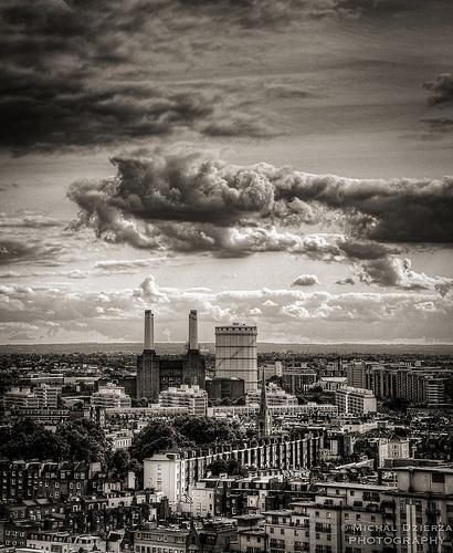 Battersea Power Station, London.