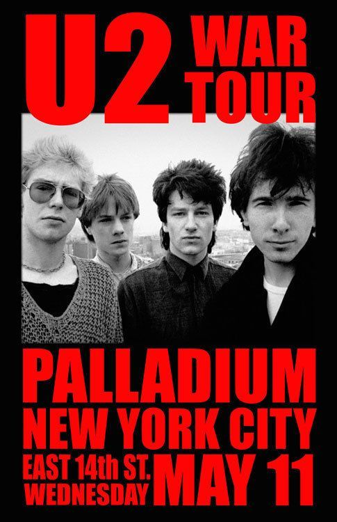 U2 New York 2019 U2   New York City NY | U2 in 2019 | Vintage concert posters