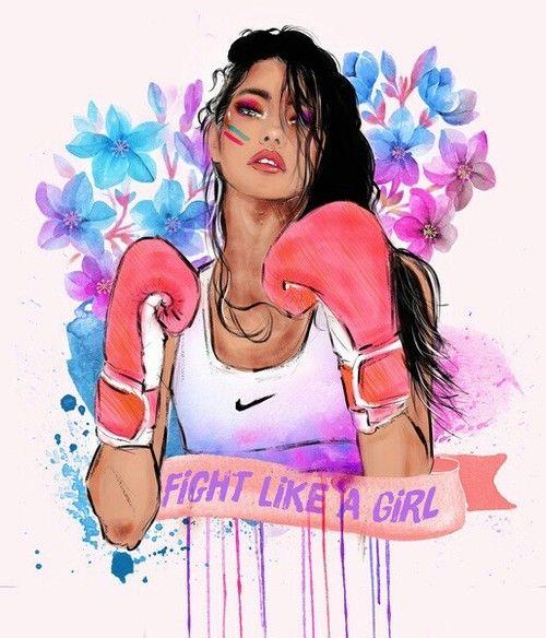 Imagem de girl, fight, and nike