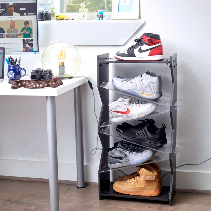 Modern Shoe Storage SoleStackscom 38 best