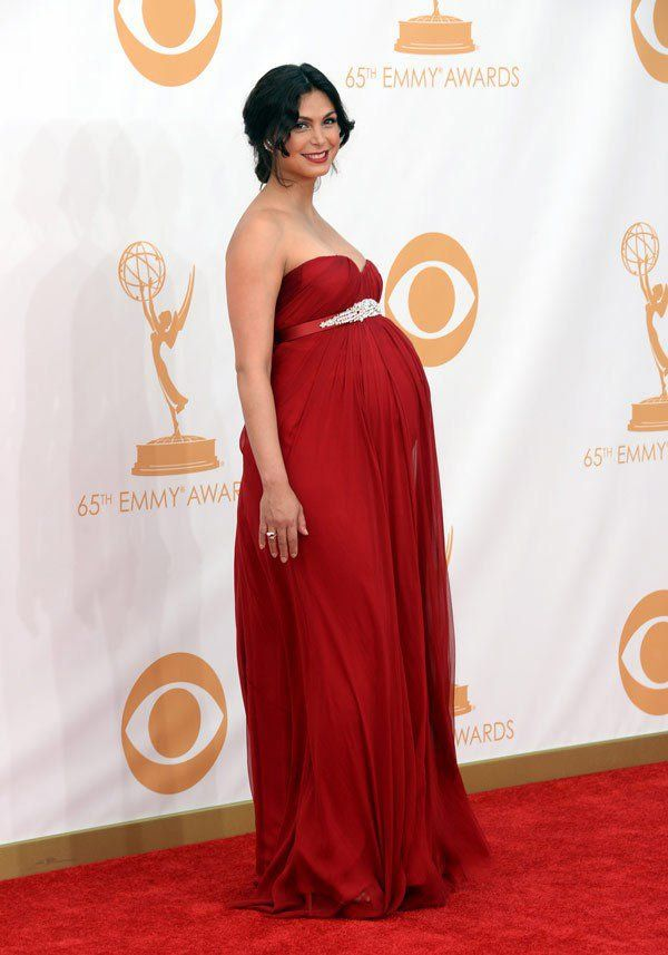 Morena Baccarin Pregnant at the Emmys