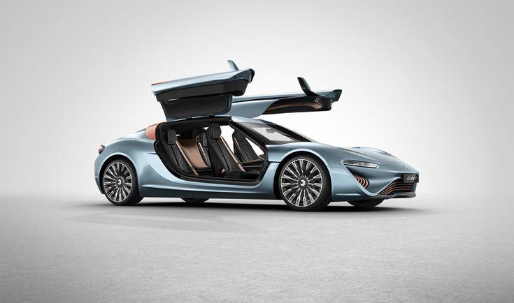 912 horsepower QUANT e-sportlimousine runs exclusively on salt water
