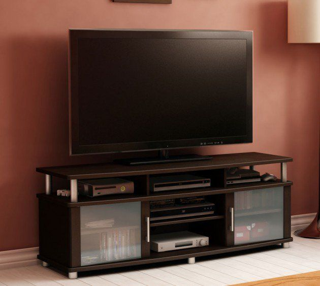 17 best ideas about cool tv stands on pinterest black for Table tv design