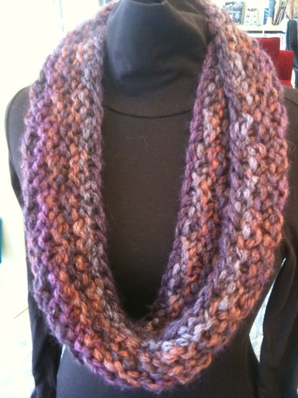 Infinity Scarf Knitting Pattern Size 17 Needles : 17 Best images about Fashion & Style on Pinterest Spiral ...