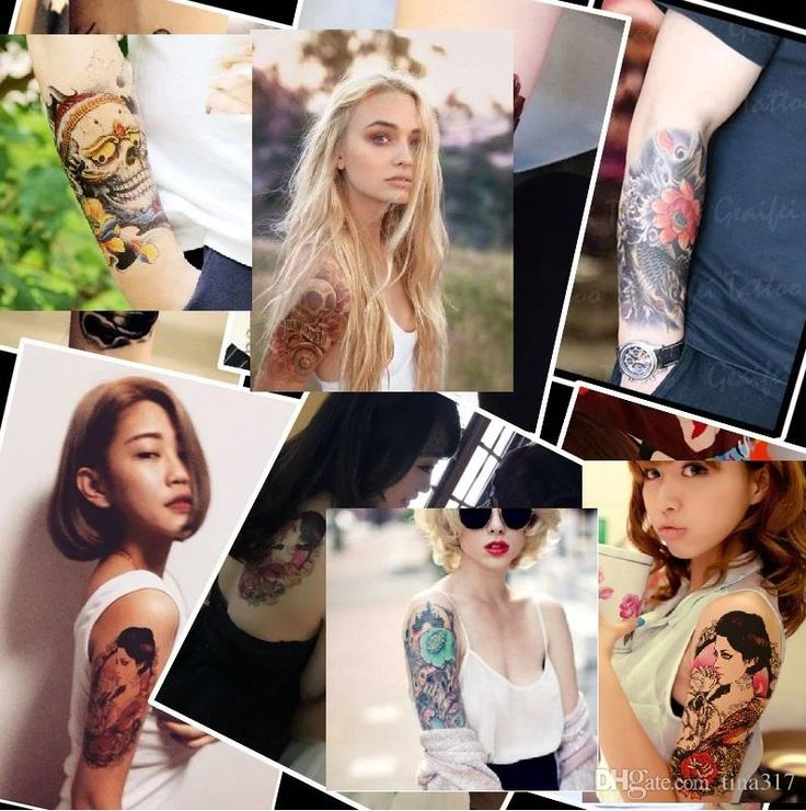 2015 Flowers Arm Tattoos Skeleton Tattoo Paste Waterproof Arm Tattoo Simulation A Larger Version 1222 Temporary Tattoos For Adults Jagua Tattoo From Tina317, $33.51| Dhgate.Com