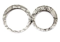 Nappula and Ruusu rings by Anniina Dunder-Berg 2010