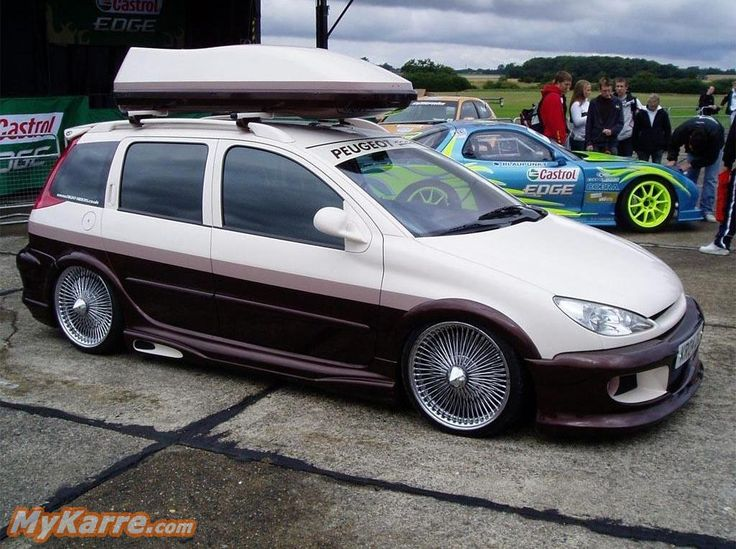 peugeot 206 sw tuning cars modified pinterest. Black Bedroom Furniture Sets. Home Design Ideas