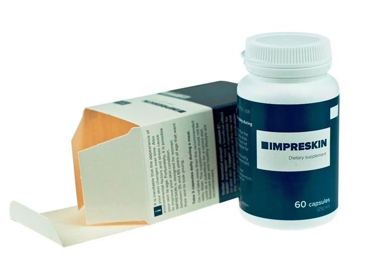 IMPRESKIN • tabletki na zmarszczki
