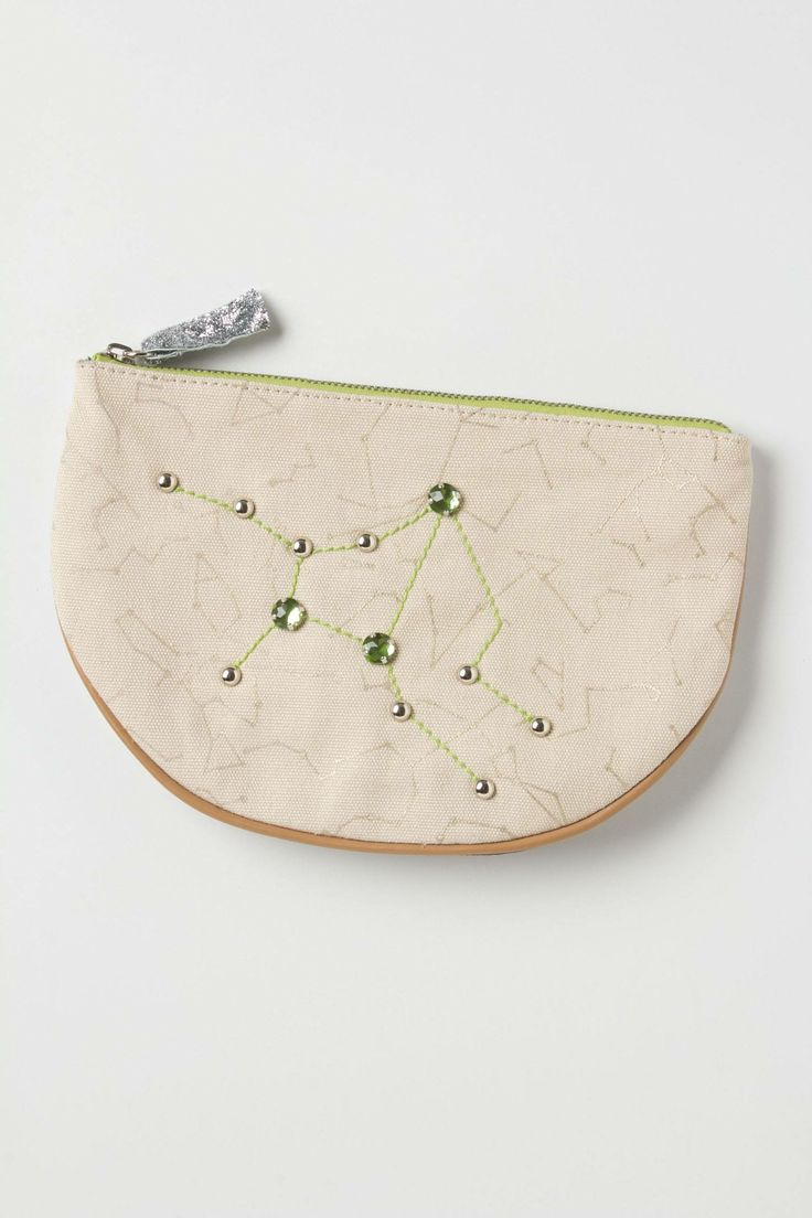 Tracing Stars Pouch - anthropologie.com