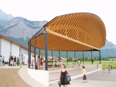 274 best images about timber construction on pinterest office buildings mu - Anglade structure bois ...