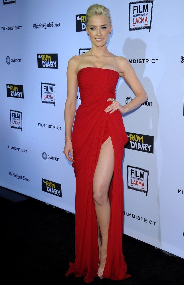 "Amber Heard - ""The Rum Diary"" World Premiere"