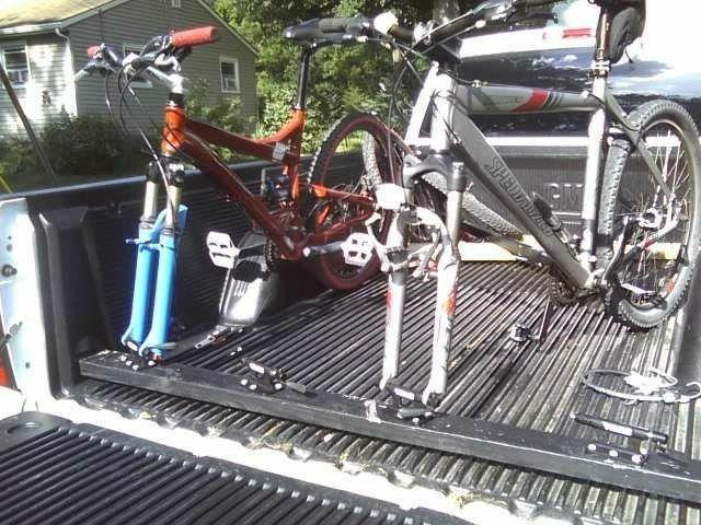 Pin By Fsansaldo On Bamboo Speaker Bike Transporting Truck Bed